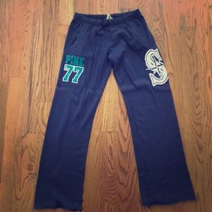 5baa05b9afe9cf PINK Victoria's Secret Pants | Pink Seattle Mariners Sweat | Poshmark